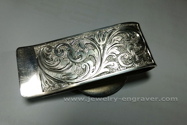 #615 - Silver Money Clip